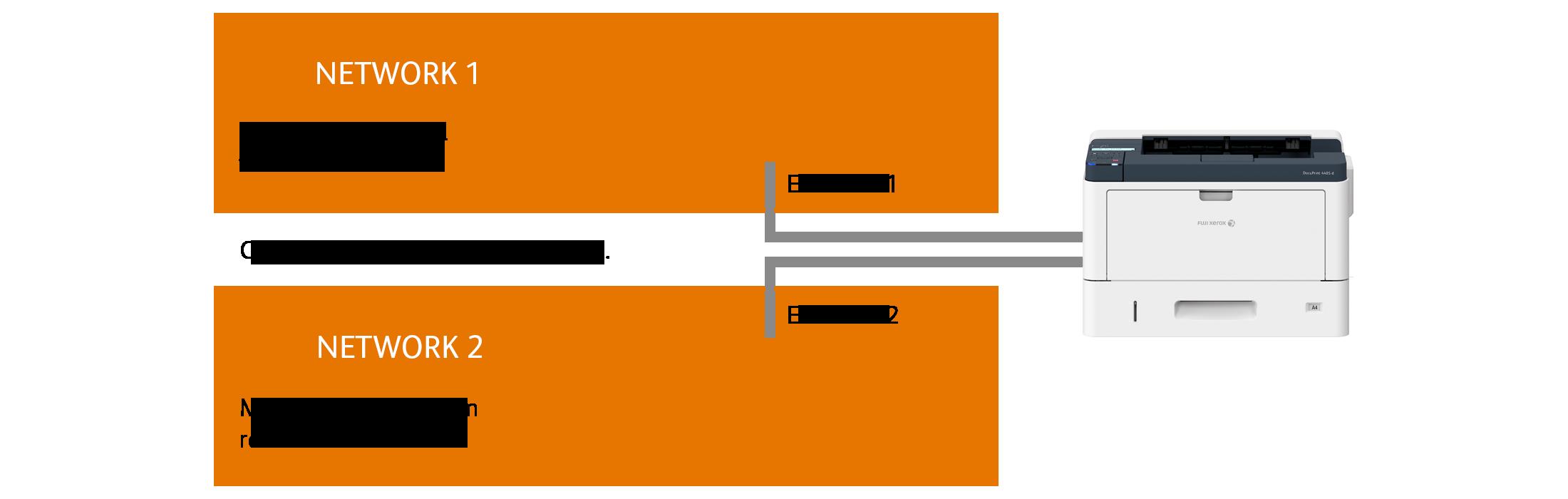 Dual network capability