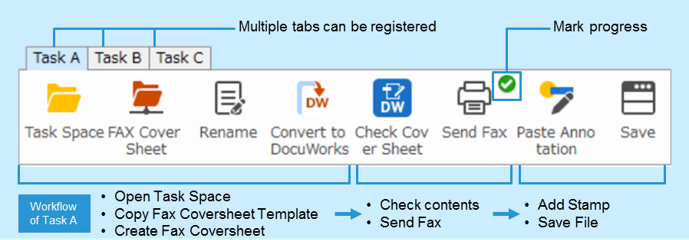 DocuWorks 9, a New Version of Document Handling Software, Supports