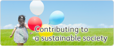 Contributing to a sustainable society