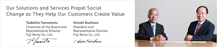 Our Solutions and Services Propel Social Change as They Help Our Customers Create Value