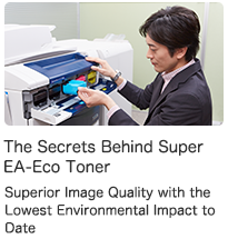 The Secrets Behind Super EA-Eco Tonert Superior image Quality with the Lowest Environmental impact to Date