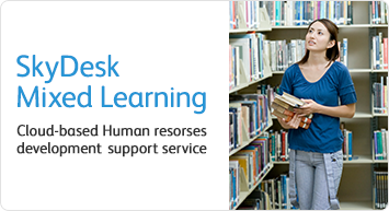 [SkyDesk Mixed Learning] Cloud-based Human resorses development support service