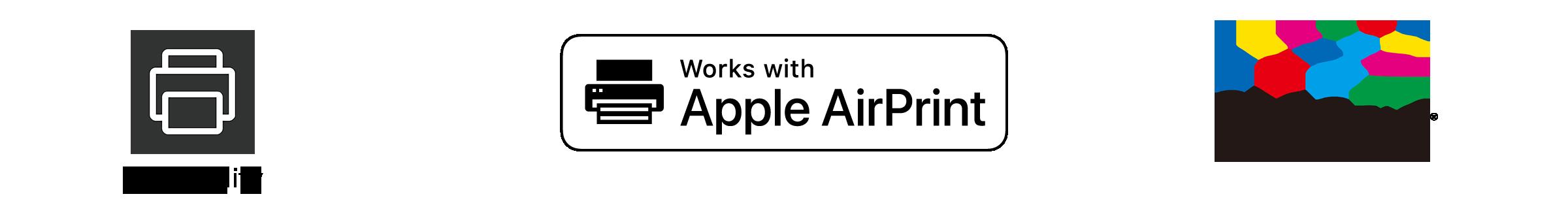 Print Utility / AirPrint / Mopria Print Service Logo